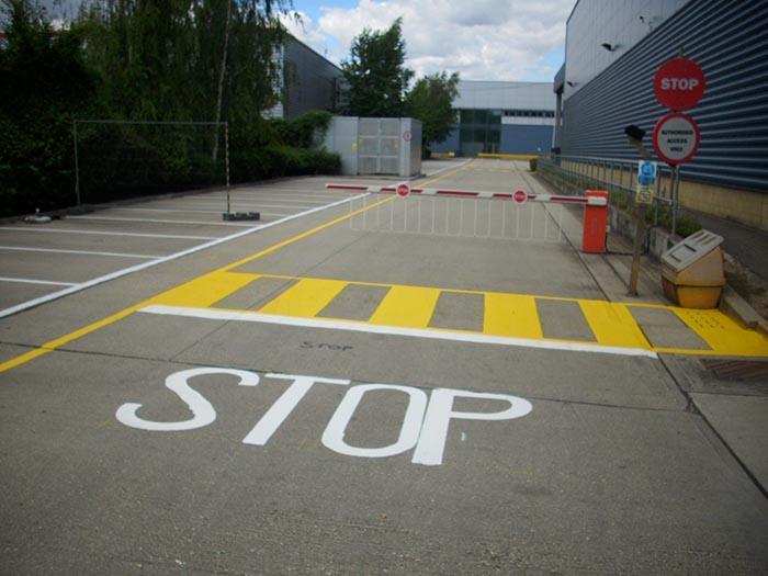 External Line Marking